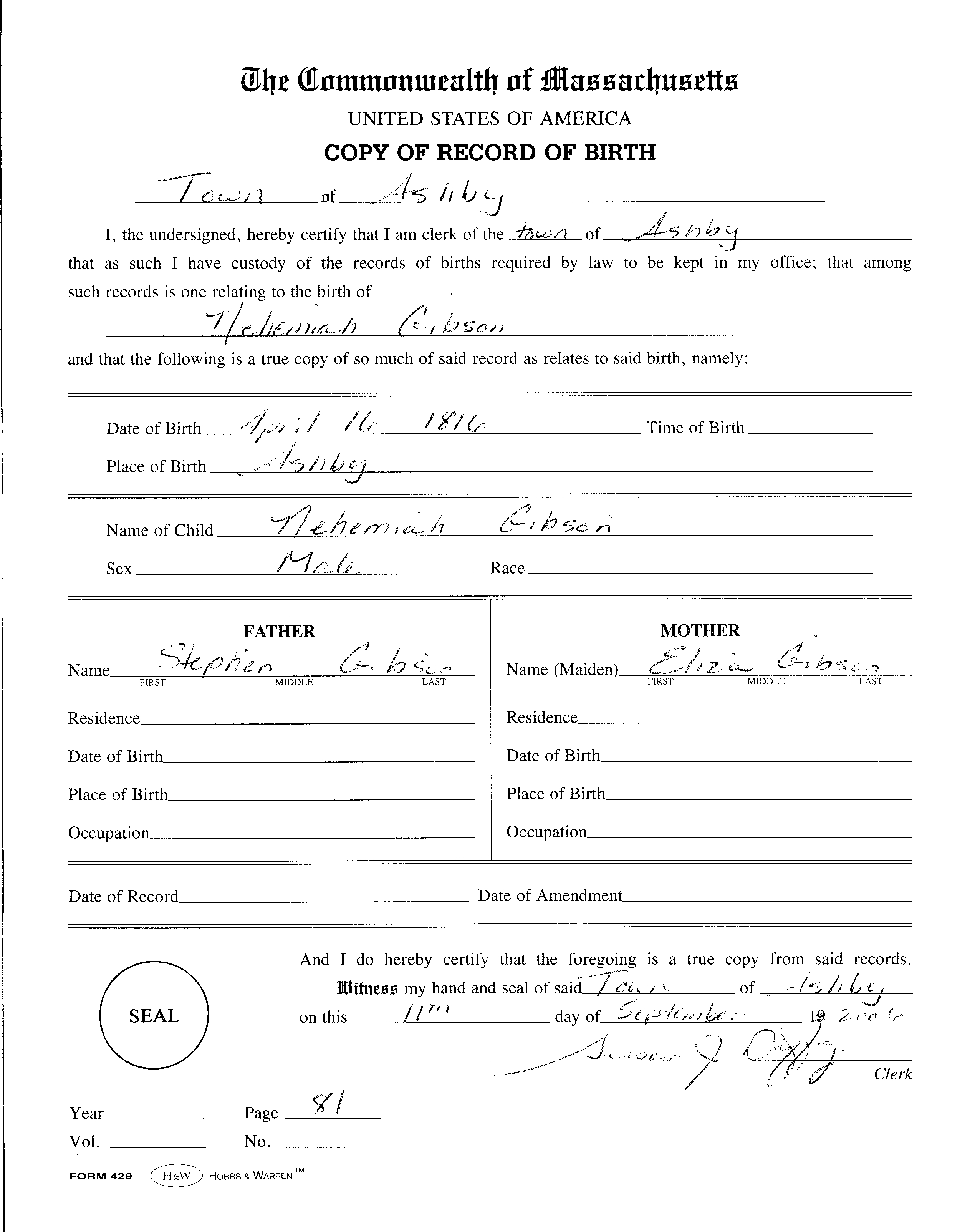 Certificate Of Birth Template Birth Certificate Template Printable ...